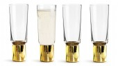 sagaform club champagne glas 4-pack