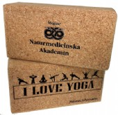 Yoga block i kork