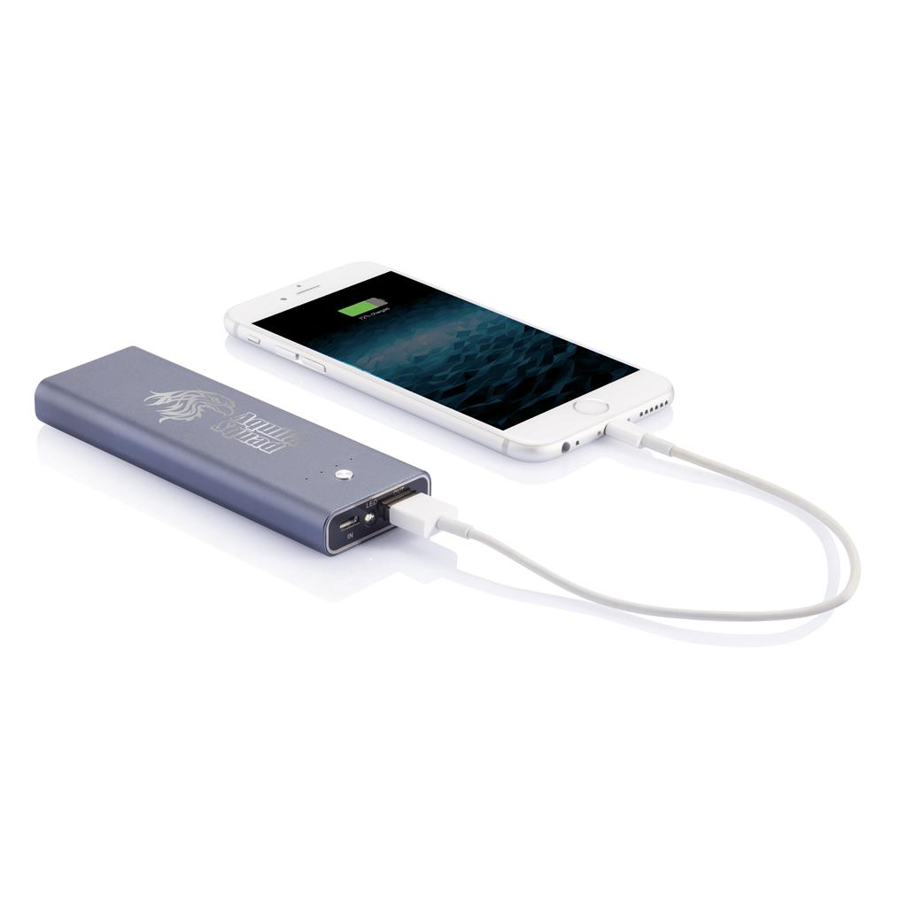 powerbank 4200mAh laddare med gravyr