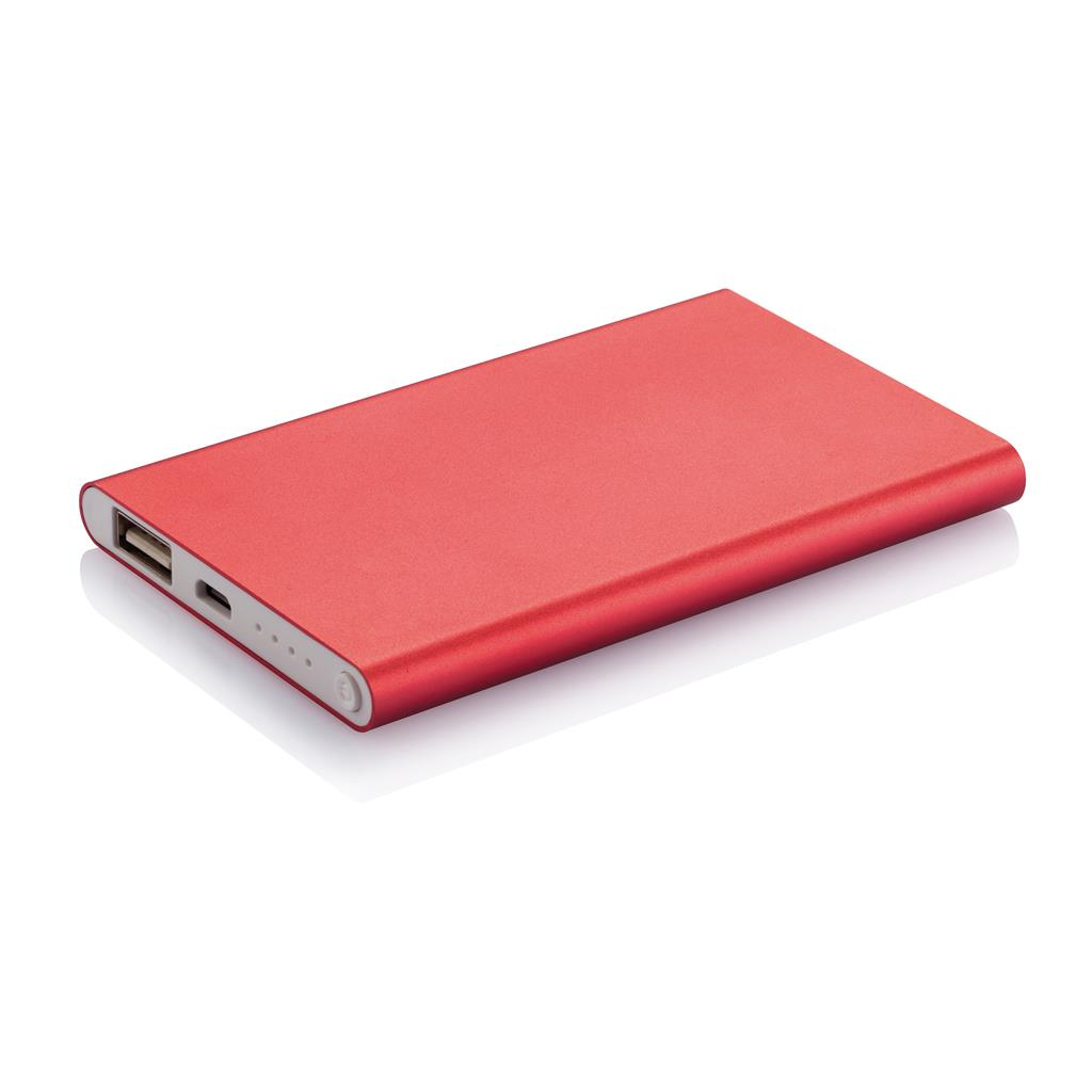 powerbank 4000mAh laddare med gravyr